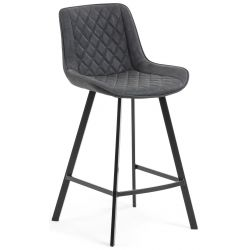 Tabouret de bar KIM Hauteur 65 cm mi-hauteur