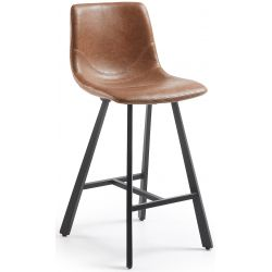 Tabouret de bar COLOMBIA Hauteur 60 cm mi-hauteur