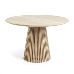 Table ronde en teck VARGA diamètre 120 cm