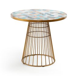 Table de repas ronde ELSA diametre 90 cm