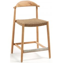 Tabouret de bar DAISY hauteur 61 cm mi hauteur