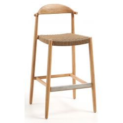 Tabouret de bar DAISY hauteur 76 cm mi hauteur