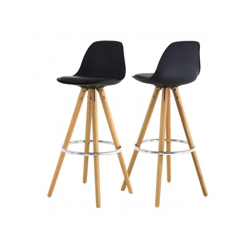 tabouret de bar hauteur plan de travail hanni hauteur 65 cm mi hauteur. Black Bedroom Furniture Sets. Home Design Ideas