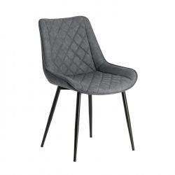 Chaise Kim anthracite