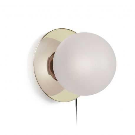 MONK Applique verre métal laiton