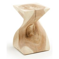 TEMPO Table d'appoint bois mungur