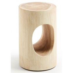 RONDO Table d'appoint bois mungur