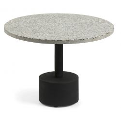 MOLINA table d'appoint terrazzo gris