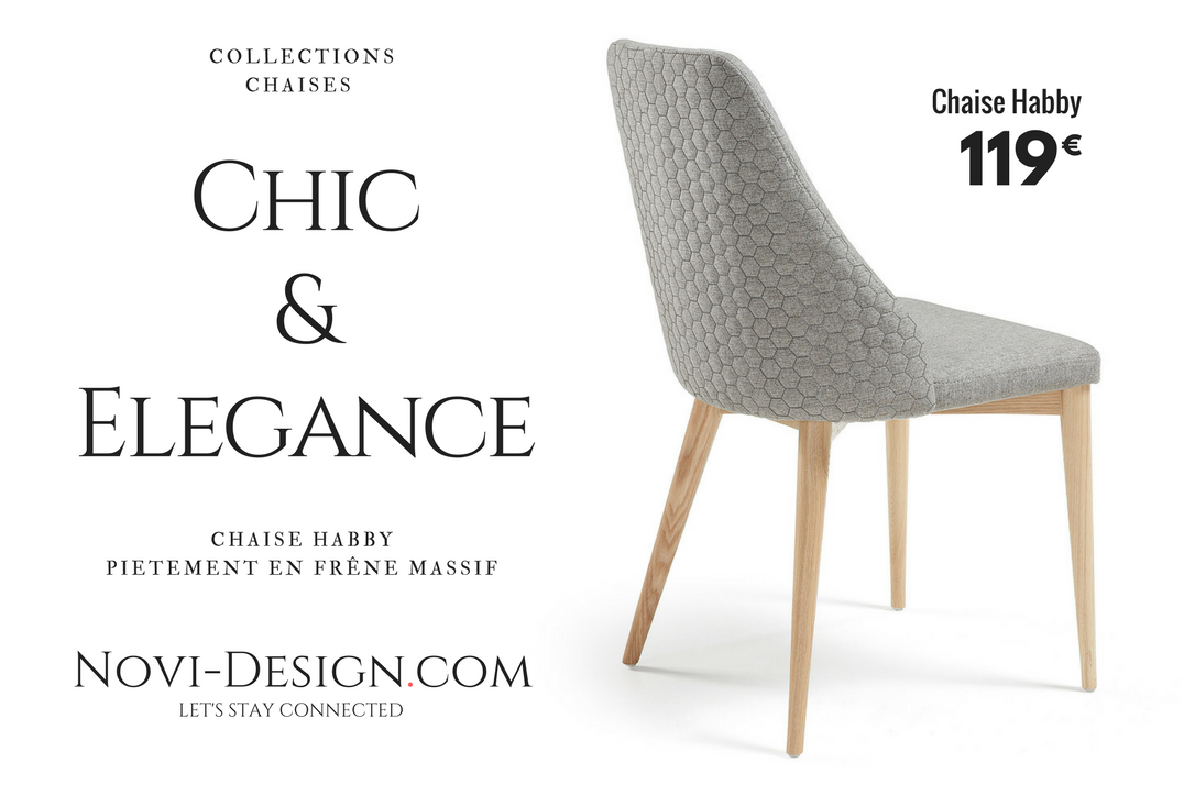 Chaise Habby novi design